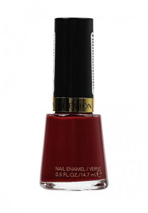 Лак для ногтей Revlon. Цвет: бордовый