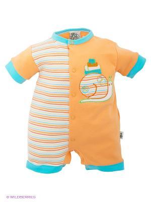 Песочник FS Confeccoes. Цвет: оранжевый, голубой