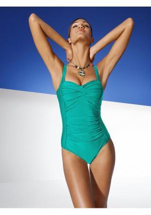 Моделирующий купальник Class International. Цвет: изумрудный, серо-коричневый, синий, шоколадный