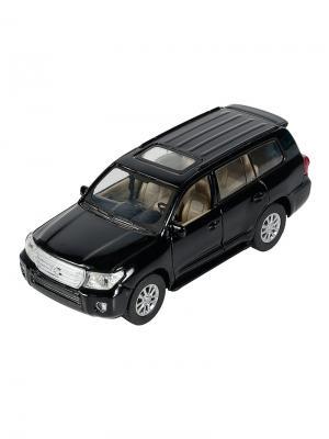 Машинка Toyota Land Cruiser, Черная (1:41-1:32) (PS-0616401-BL) Pit Stop. Цвет: черный