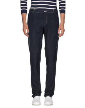Джинсовые брюки ROTASPORT. Цвет: синий