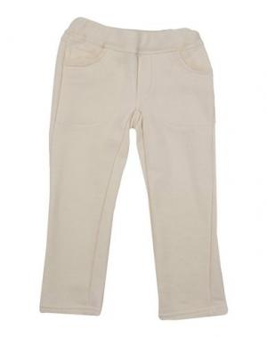 Повседневные брюки KI6? WHO ARE YOU?. Цвет: слоновая кость