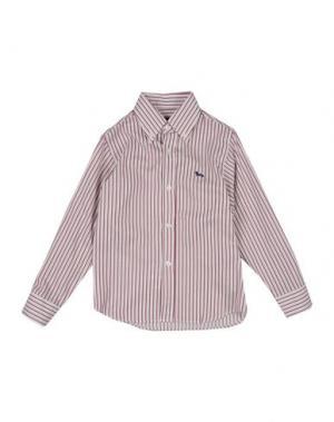 Pубашка HARMONT&BLAINE. Цвет: красно-коричневый