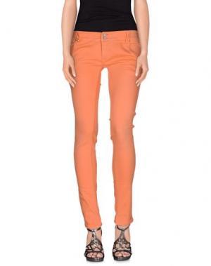 Джинсовые брюки JCOLOR. Цвет: лососево-розовый