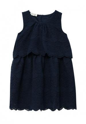 Платье Name It. Цвет: синий
