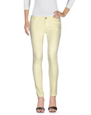Джинсовые брюки SCOUT. Цвет: желтый