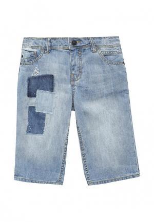 Шорты джинсовые Acoola. Цвет: голубой