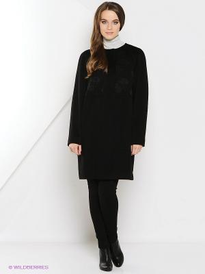 Пальто Estrade. Цвет: черный