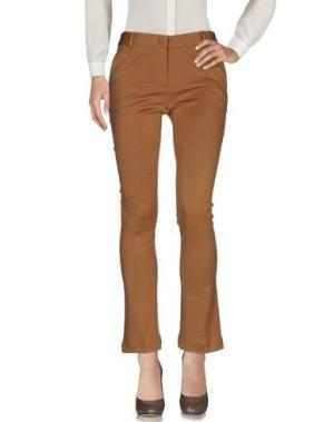 Повседневные брюки L' AUTRE CHOSE. Цвет: верблюжий