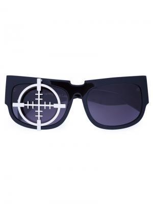 Солнцезащитные очки Target Xander Zhou. Цвет: чёрный