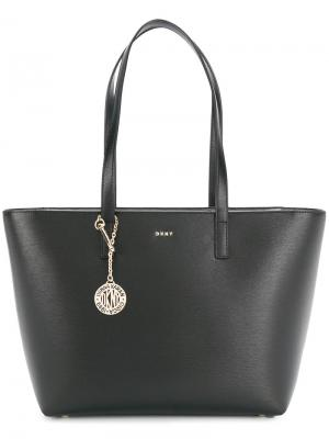 Сумка-шоппер Donna Karan. Цвет: чёрный