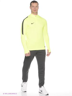 Лонгслив DRILL TOP Nike. Цвет: желтый