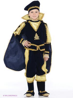 Карнавальный костюм Принц Батик. Цвет: темно-синий