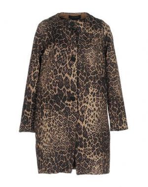 Легкое пальто NORA BARTH. Цвет: верблюжий