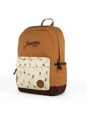 Рюкзак ЗАПОРОЖЕЦ Горки. Цвет: коричневый