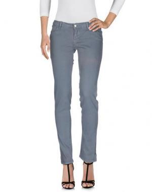 Джинсовые брюки KSUBI. Цвет: серый