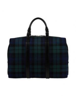 Дорожная сумка DSQUARED2. Цвет: темно-зеленый