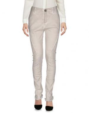 Повседневные брюки 10SEI0OTTO. Цвет: светло-серый