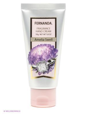 Крем для рук, 50 г Fernanda. Цвет: серый