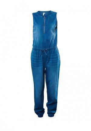 Комбинезон джинсовый Q/S designed by. Цвет: синий