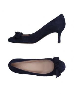 Туфли ANCARANI. Цвет: темно-синий