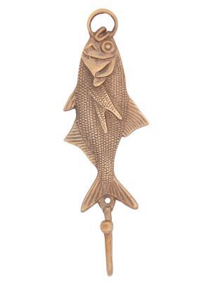 Вешалка-крючок Рыба,  2 шт./упак. ГАНГ. Цвет: бронзовый
