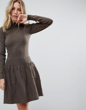Deby Debo Свободное платье Lester. Цвет: черный