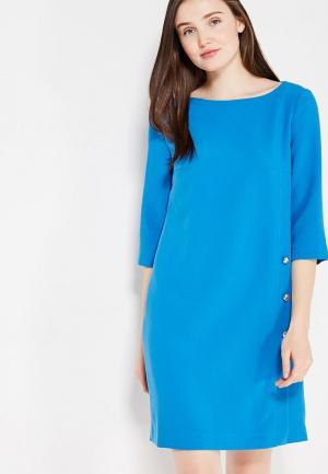 Платье Affari. Цвет: голубой