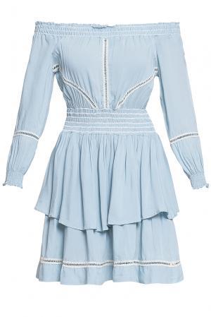 Платье из вискозы 184674 Anna Rita N. Цвет: синий