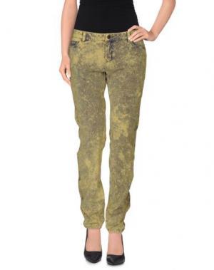 Повседневные брюки BELAIR. Цвет: кислотно-зеленый