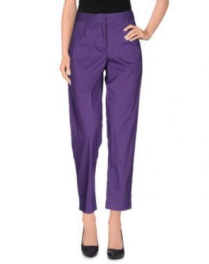 Повседневные брюки LIVIANA CONTI. Цвет: фиолетовый