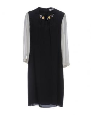 Короткое платье ST.EMILE. Цвет: черный