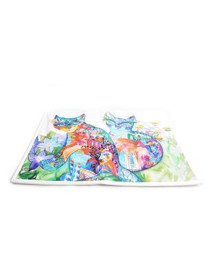 Коврик в ванну Оксана Заика -Венецианские- Фабрика ДемьяновЪ. Цвет: белый, бледно-розовый, голубой, горчичный, желтый, синий