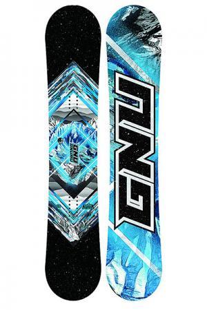 Сноуборд  Asym Gnuru C2E None GNU. Цвет: синий,черный