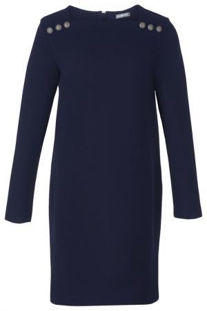 Платье Gulliver. Цвет: темно-синий