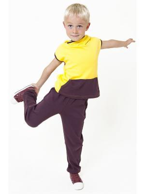 Спортивный костюм Тридевятое царство Emily Rise. Цвет: коричневый