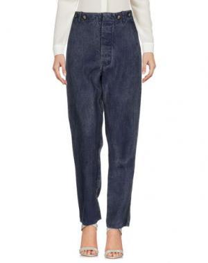 Повседневные брюки ERMANNO GALLAMINI. Цвет: темно-синий