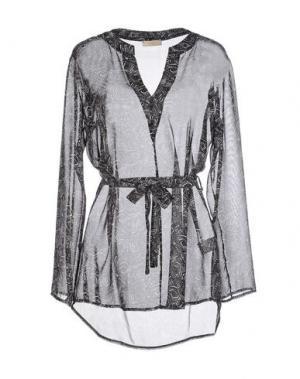 Блузка H²O LUXURY. Цвет: черный