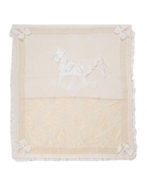 Одеяльце для младенцев LADIA. Цвет: бежевый