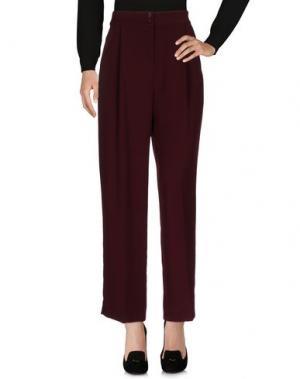 Повседневные брюки AMERICAN VINTAGE. Цвет: красно-коричневый