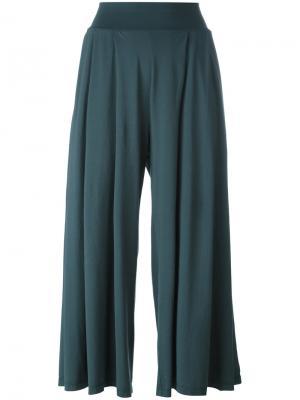Укороченные брюки Labo Art. Цвет: зелёный