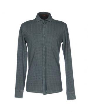 Pубашка JEY COLE MAN. Цвет: зеленый