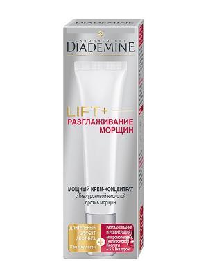 Крем-концентрат LIFT + разглаживание морщин Superfiller 30 мл Diademine. Цвет: молочный