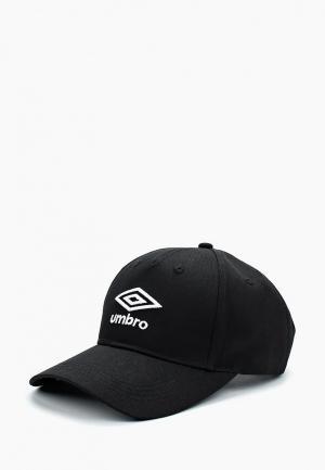 Бейсболка Umbro. Цвет: черный