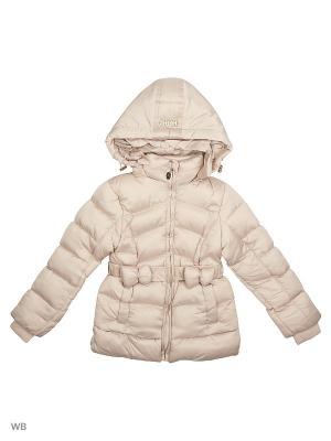 Куртка Cherche. Цвет: бежевый