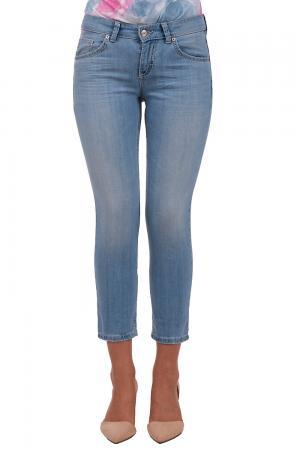 Модные джинсы MAC. Цвет: голубой