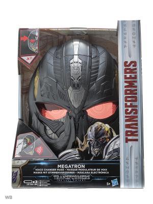 Электронная маска Трансформеров Transformers. Цвет: черный, красный, синий