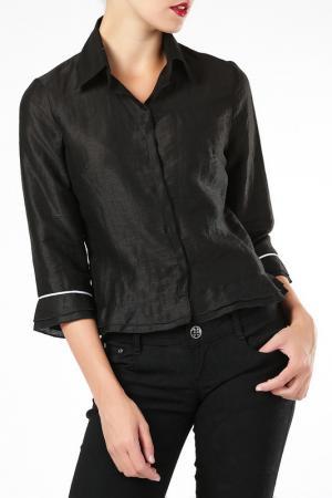Блузка ELLEN EISEMANN. Цвет: черный