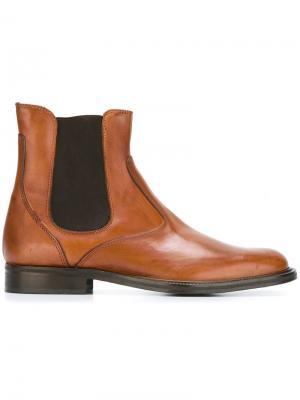 Ботинки челси Daniele Alessandrini. Цвет: коричневый