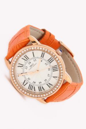 Часы IBSO. Цвет: золото, оранжевый
